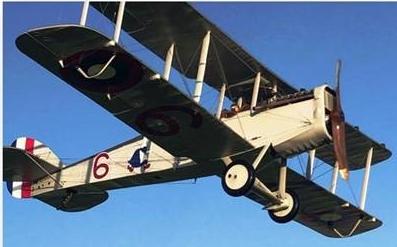 Liberty Plane in flight