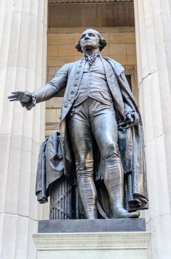 federal-hall george Washington statue