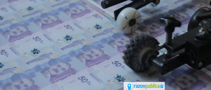 Emisión monetaria para solventar la crisis