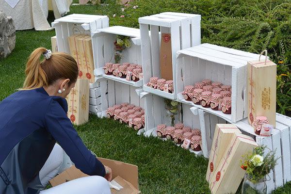 allestimento originale low cost per bomboniere commestibili | La petite coco wedding planner