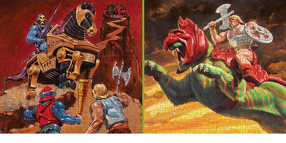 Masters of the Universe 500-Piece Puzzles