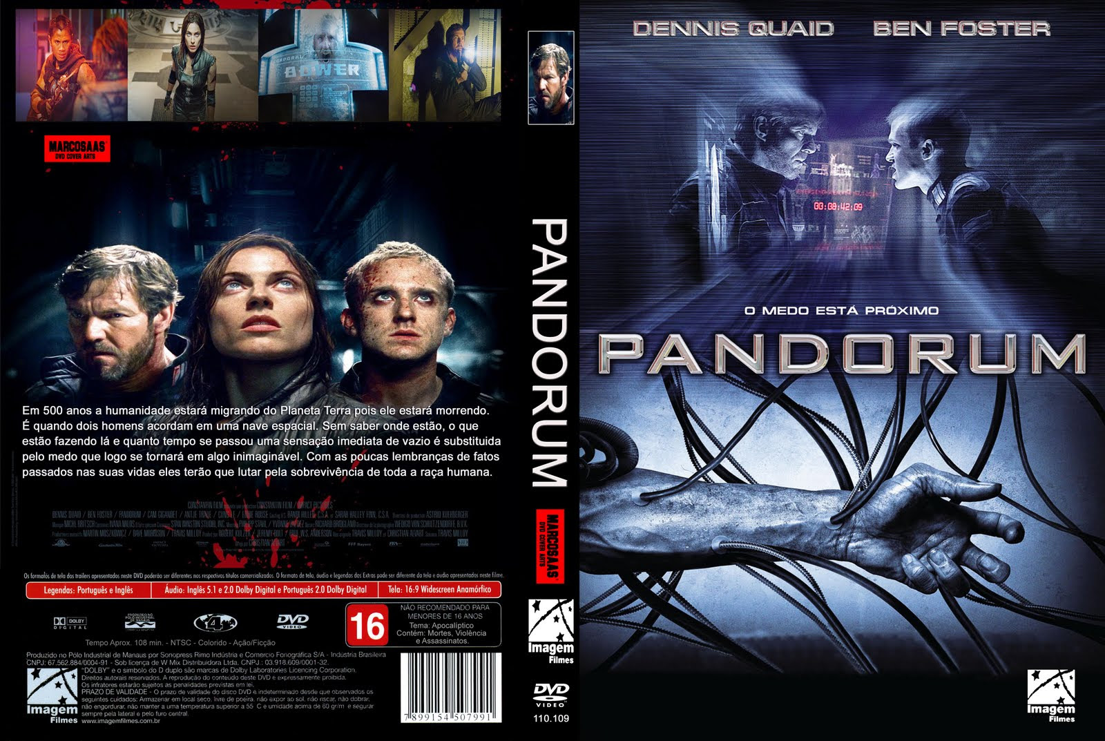 XYFRtKT Pandorum Torrent   BluRay Rip 1080p Dublado (2010)