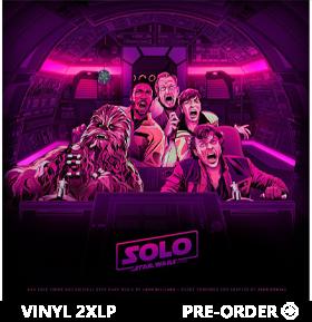 Solo: A Star Wars Story Original Motion Picture Soundtrack 2XLP