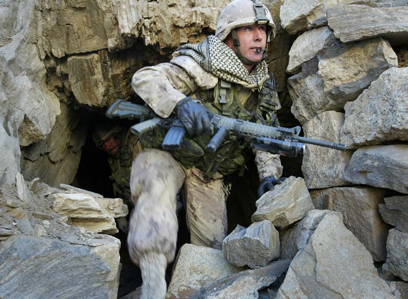 Military selects new uniform camo