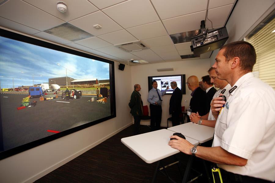 Visit the RescueSim Incident Command Simulator showcase at Interschutz 2015