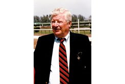 Ed Cox was the breeder of several top Thoroughbreds, including Woodman and Marquetry