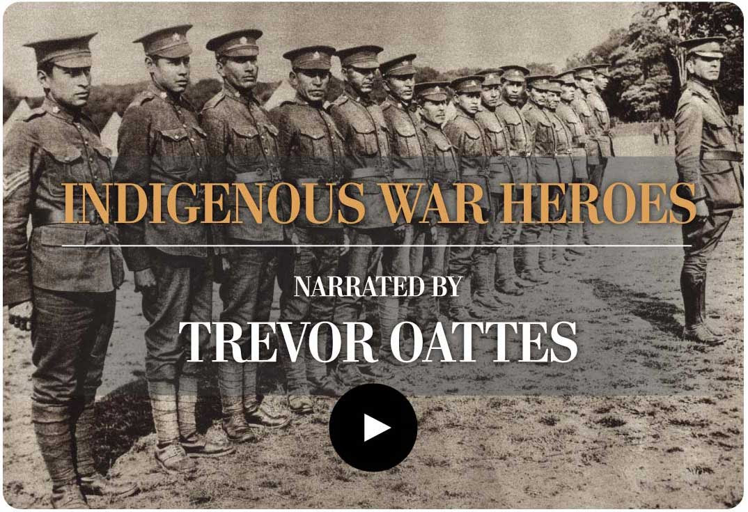 Indigenous War Heroes