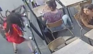 Video from Paris: Muslim slaps woman on street after she told him to stop harassing her