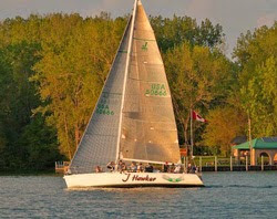 J/120 sailing from Detroit, MI