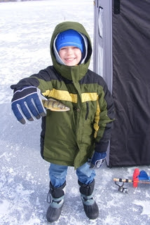 Enjoy Michigan's Free Fishing Weekend Feb. 15-16; no fishing license required