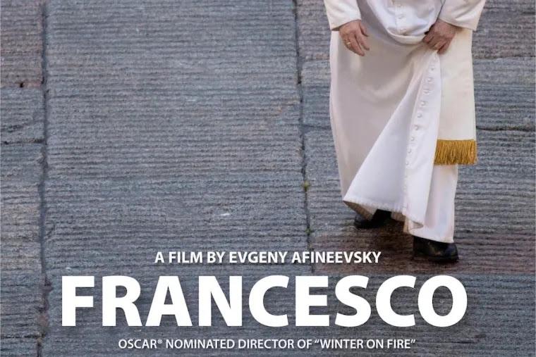 "Promotional poster, ""Francesco."""
