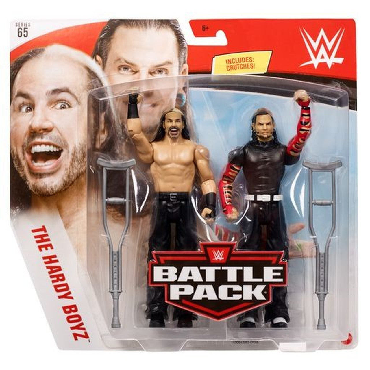 Image of WWE Battle Pack Series 65 - The Hardy Boyz