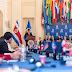 FOTONOTICIA: Consejo Permanente de la OEA recibió al Presidente de Costa Rica