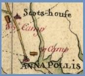 Generals Highway 18th century map