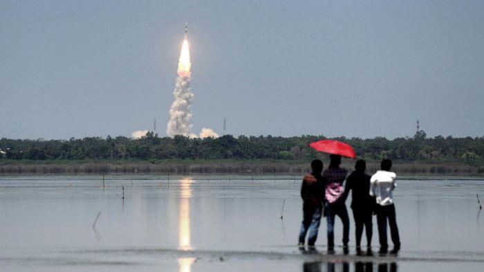 Le lancement du dernier satellite de la constellation IRNSS.
