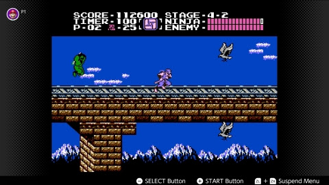 In NES game Ninja Gaiden, take on the role of Ryu Hayabusa, a rising ninja in his family's clan who travels t ...