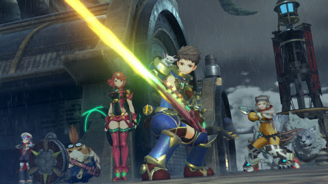 The Xenoblade Chronicles 2 game will be available on Dec. 1. (Graphic: Business Wire)