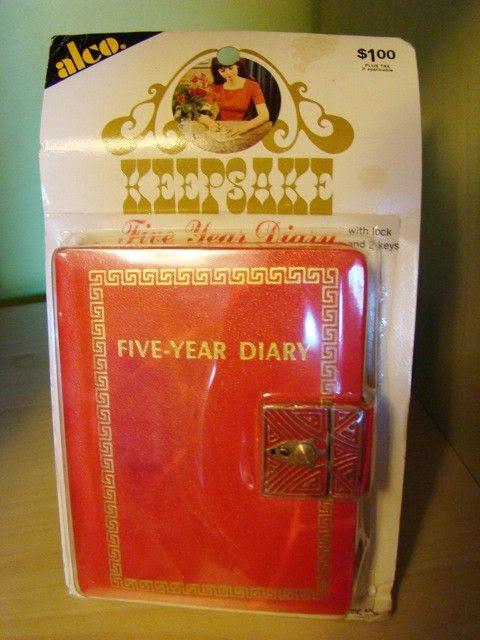 Dear Diary ...