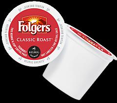 Folgers Classic Roast Keurig Kcup coffee
