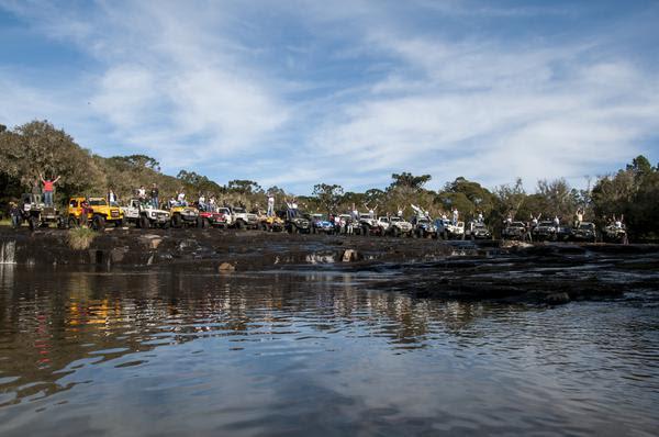 O Transcatarina reúne jipeiros de diversas regiões do Brasil (DFOTOS)