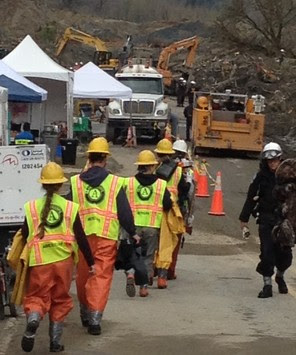 Washington Conservation Corps responds to mudslides in Oso, WA