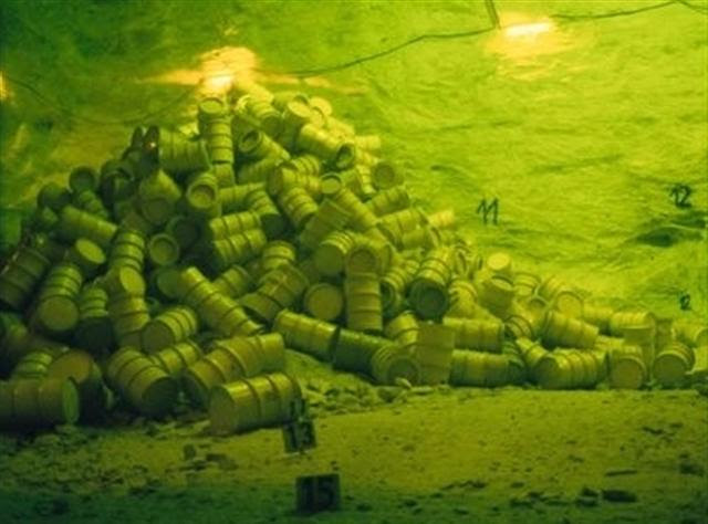 Risultati immagini per depositi di scorie radioattive