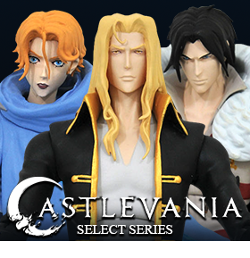 Castlevania Select Wave 1 Set of 3 Figures