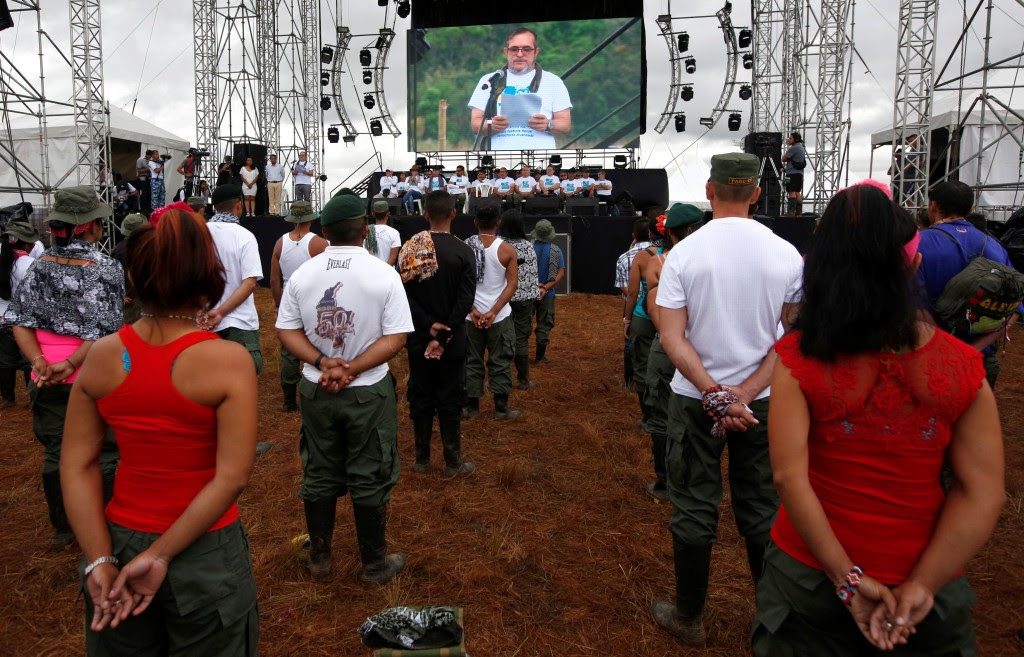 Apertura de la X Conferencia de las FARC (Reuters)