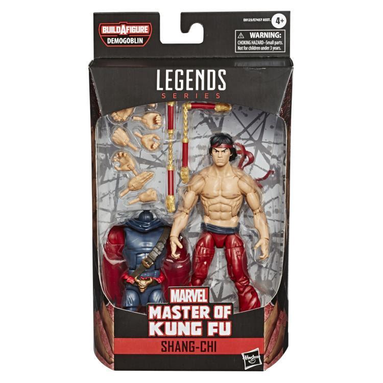Image of Spider-Man Marvel Legends 6-Inch Action Figures Wave 1 (BAF Demogoblin)- Shang Chi