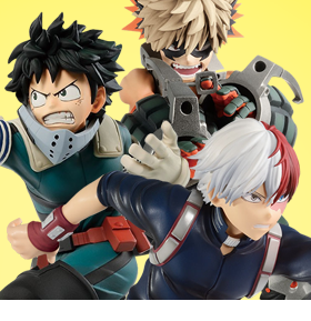 MY HERO ACADEMIA ENTER THE HERO FIGURES