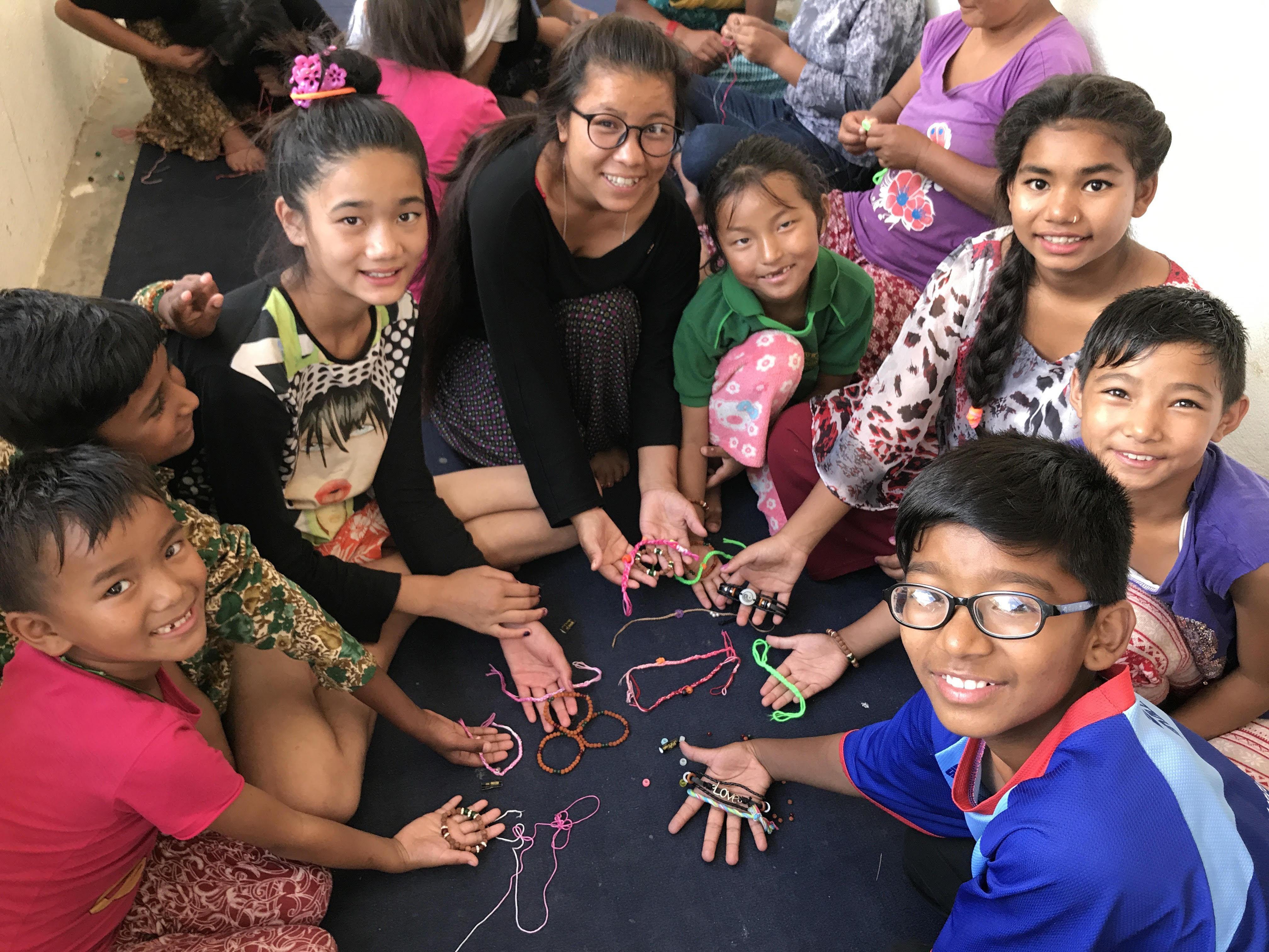Nepal Orphan Kids Dr Naram Foundation Love Bracelets