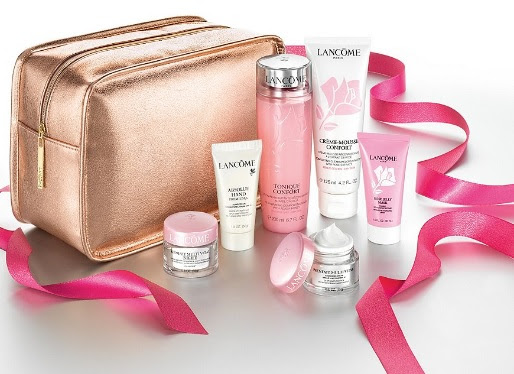 lancome skincare purchase with purchase 2018