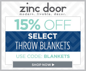 15% off Select Throw Blankets #affiliate