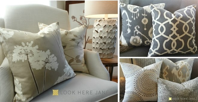 Pillow Covers + More!