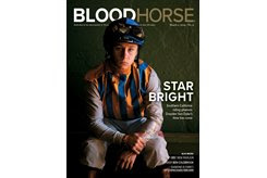 BloodHorse was honored for having the best print publication cover in 2019 among equine publications with a circulation of 10,000 or more