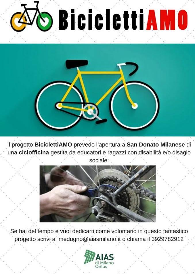 Una nuova ciclofficina sociale è aperta a San Donato (in via Di Vittorio 48/b) e cerca volontari.