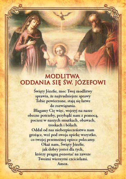 Znalezione obrazy dla zapytania LITANIA DO SW. JOZEFA