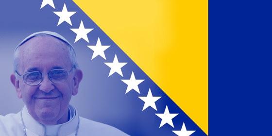 Bosnia Hersegovinza Papa Francisco 560