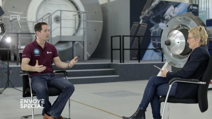 """VIDEO. Regardez l'interview intégrale de Thomas Pesquet dans """"Envoyé spécial"""""""