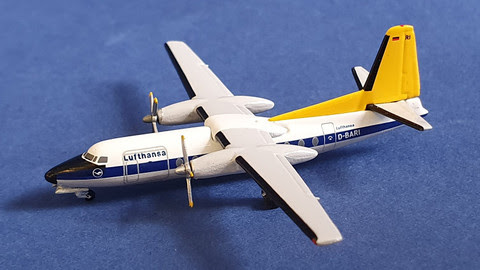 F-27 Lufthansa D-BARI