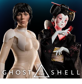 Ghost in the Shell: Mixed-Media 1/4 Scale Statues