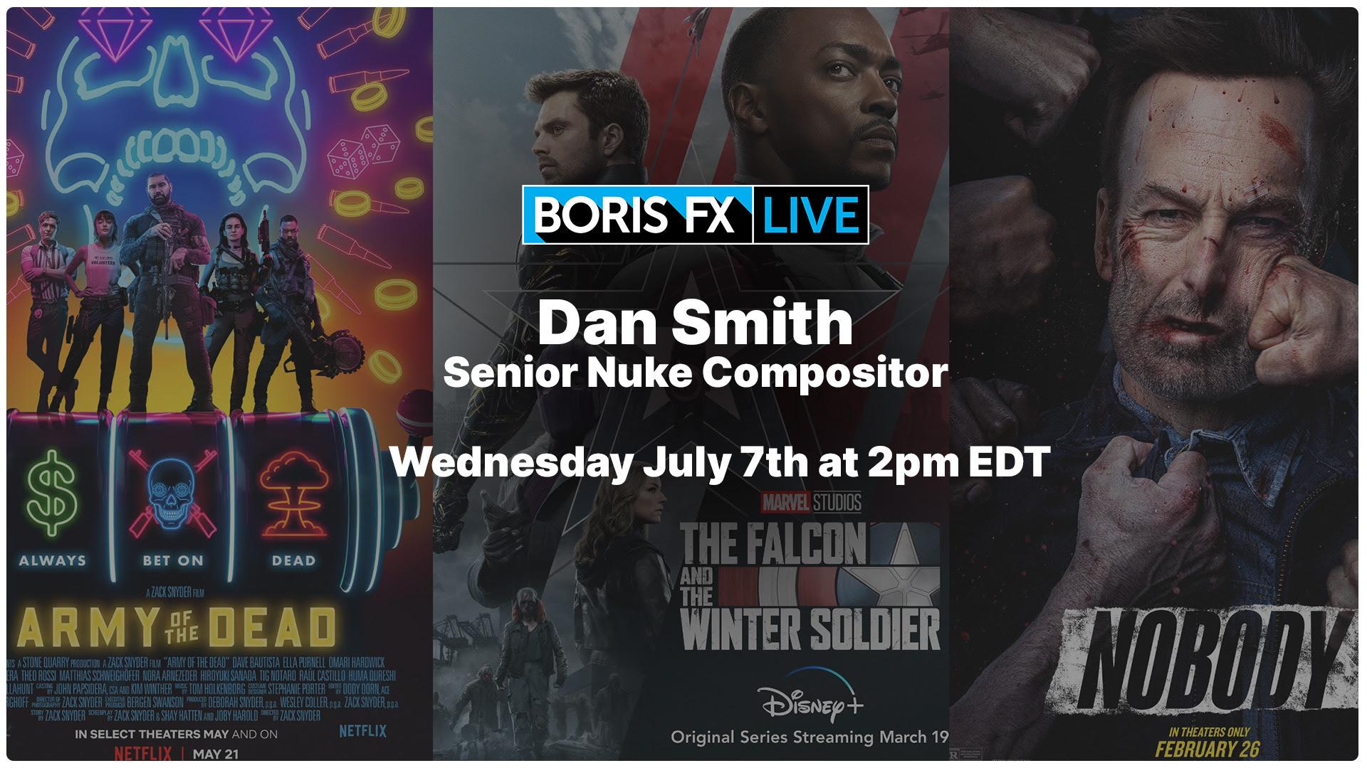 Boris FX Live: Mocha Pro and Silhouette for Nuke Compositors