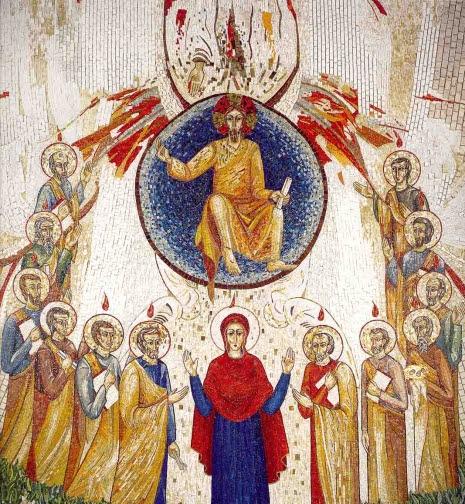 001-038-1999-Redemptoris-Mater-Roma-Italia-Parete-Ascensione-parete-centraleS