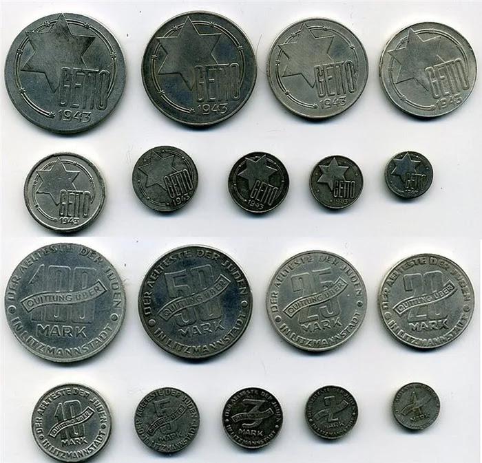 Да, это монеты. И – да, на них написано «гетто» Cat_cat, История, Длиннопост, Гетто, Холокост, Евреи, Третий рейх, Деньги