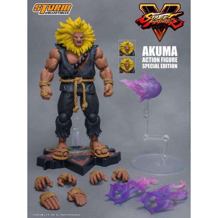 Image of Street Fighter V Akuma (Special Edition) 1/12 Scale Figure