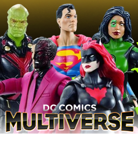 DC COMICS MULTIVERSE COLLECT & CONNECT