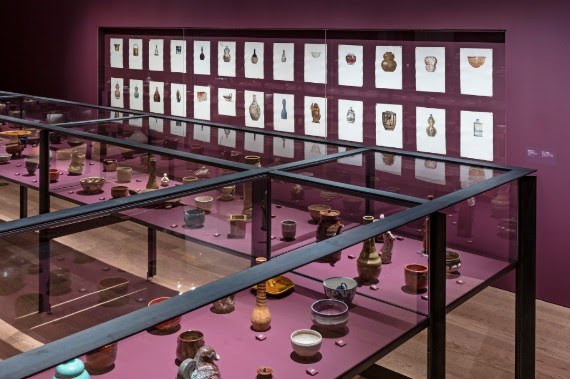 Installation view of Obsession: Sir William Van Horne's Japanese Ceramics