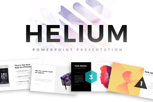 Helium PowerPoint Template