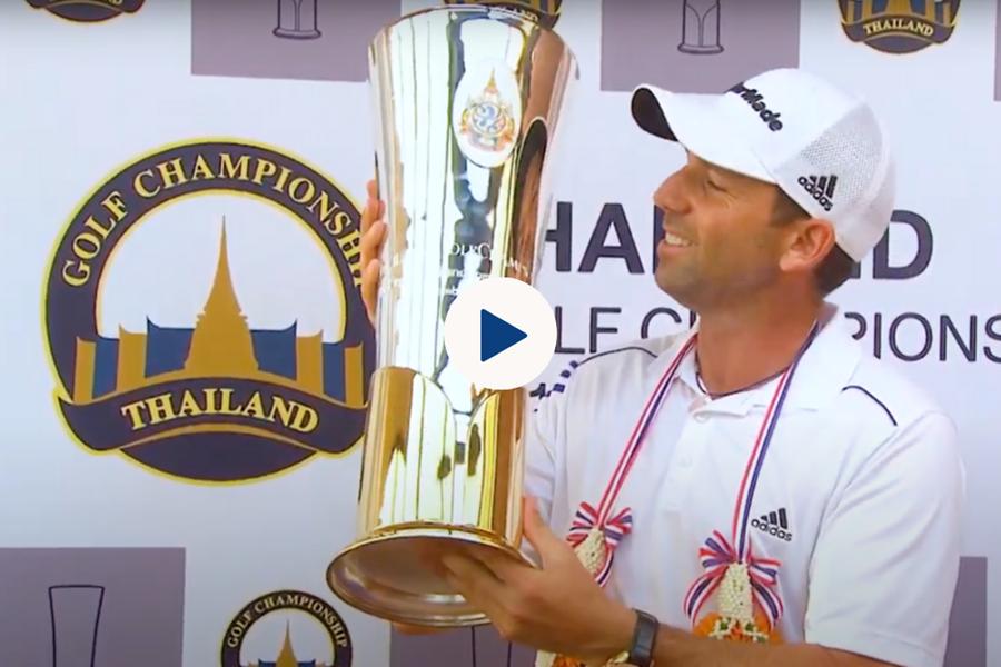 Sergio Garcia Victorious at Thailand Golf Championship 2013   Classic Highlights