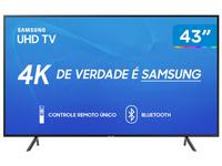 Smart TV 4K LED 43? Samsung UN43RU7100 Wi-Fi
